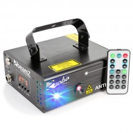 BeamZ Laser Cupid Double 210mW RG Gobo, DMX, DO