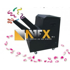 AVFX Mini Confetti machine / Party popper / 100W