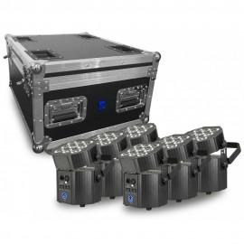 BeamZ S2500, DMX výrobník mlhy s LED 24x 10W QCL