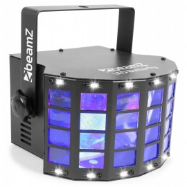 BeamZ LED Multitrix, 20x1W RGBWA + 12xSMD LED + 225mW RG laser