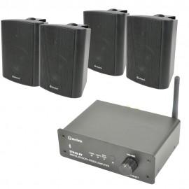 Bluetooth zesilovač se 4 reproduktory