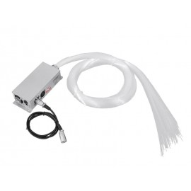 FIB 450 optické vlákno, 1x 9W TCL LED, RGB, DMX, 2m