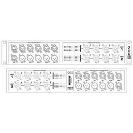 nova CCON NF-Speakon-Ethernet-Dante Distrubtion Unit - Pariz