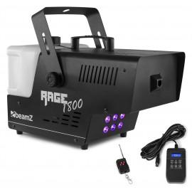 BeamZ Rage 1800 LED, výrobník mlhy 1800W, 6x 9W RGBW