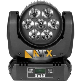 AVFX LED Beamwash 7x18W RGBWA+UV WASH 6in1