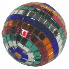 Zrcadlová koule 5cm barevná