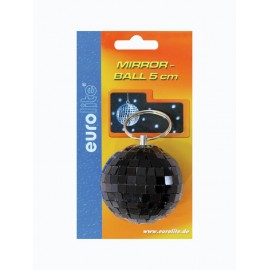 Zrcadlová koule 5 cm, černá