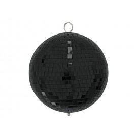 Zrcadlová koule 20 cm, černá