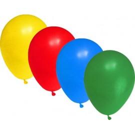 AVFX Nafukovací balonky obyčejné mix 100ks 29cm