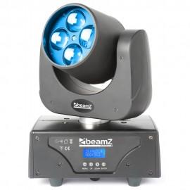 Beamz LED Razor 510 Zoom, 4x 15W QCL, DMX