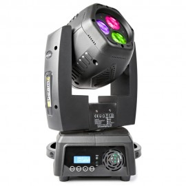BeamZ LED otočná hlavice Double 3x8W RGB, DMX