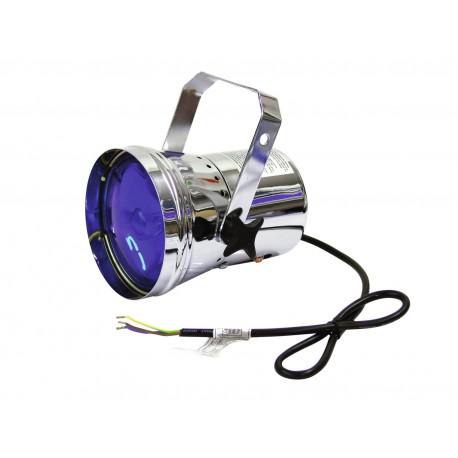 PAR 36T, stribrny, bodovy reflektor