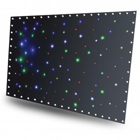 BeamZ LED závěs 3x2m, 96x RGBW LED, dálkové ovládání