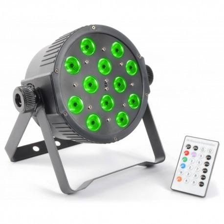 BeamZ LED FlatPAR 12x 3W TCL, IR, DMX