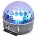 BeamZ mini Half Ball 3x 3W RGB LED, světelný efekt