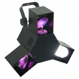 BeamZ LED Triple Flex 3x 24 LED RGB, DMX