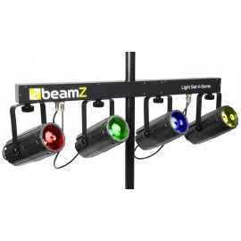 BeamZ LED KLS 4, 4x 57 RGBW LED, DMX, světelná rampa
