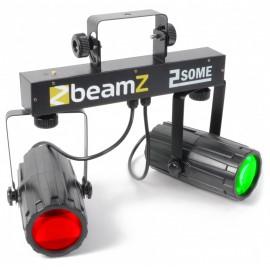 BeamZ LED KLS-2, 2x 57 RGBW LED, černá, světelná rampa