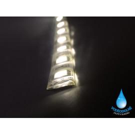 LED páska SMD3528, teplá bílá, 12V, 1m, IP54, 60 LED/m