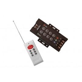 AVFX ovladač pro LED svítící pásky, 12-24V, RGB, RF