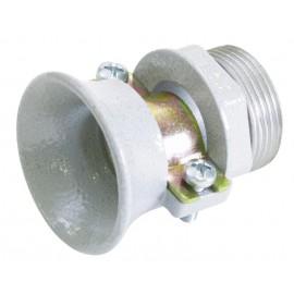 Průchodka PG21 na kabel, kovová objímka