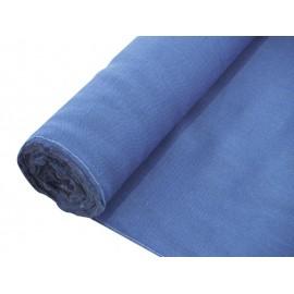Dekorační tkanina modrá, šíře 130cm, cena / m