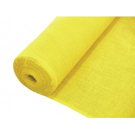 Dekorační tkanina žlutá, šíře 130cm, cena / m