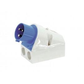 Mounting plug CEE 32A 3-pol (wall)