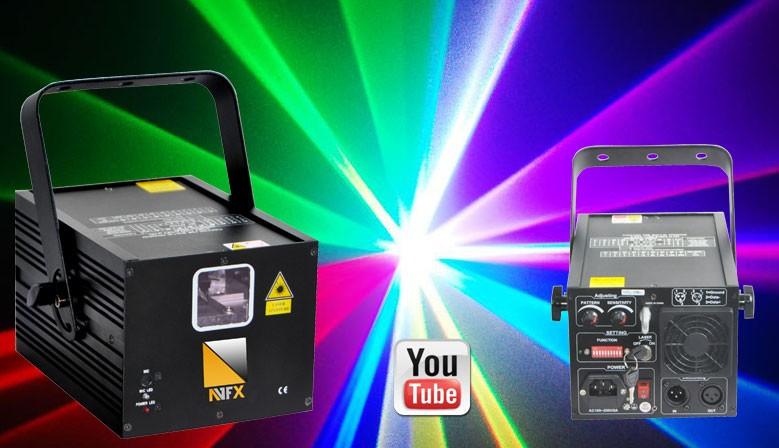 Profesionální animační Lasery až 12W