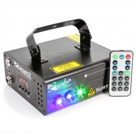 BeamZ Laser PRO Phantom 3000, 3W, Pure Diode, RGB, animační laser,