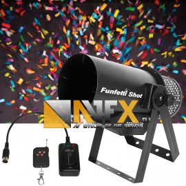 AVFX Confetti machine / Party popper / 1800W
