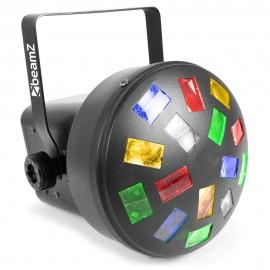 BeamZ venkovní laser IP65 s dálkovým ovládáním, červeno-zelený