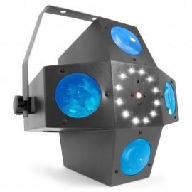 BeamZ LED Mini Zig Zag, 6x 3W RGBWA, paprskový efekt