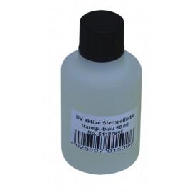 UV razítkovací barva 50ml, modrá