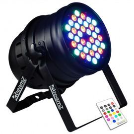BeamZ Reflector LED PAR-64 RGBW 36x3W