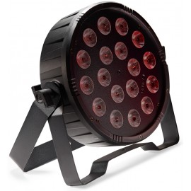 Stagg LED PAR 18x1W RGB DMX, LED reflektor