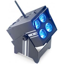 Stagg SLI BAT-48-0, reflektor 3x 4W QCL LED, AKKU
