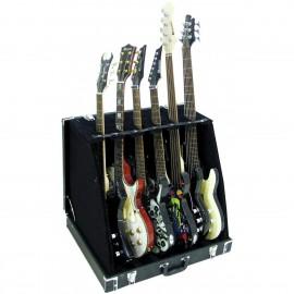 Dimavery, stojan na 6 kytar, černý