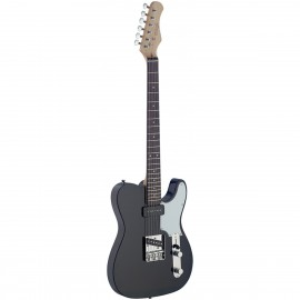 Stagg SET-CST BK, elektrická kytara, černá
