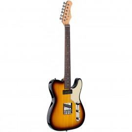 Stagg SET-CST BS, elektrická kytara, sunburst