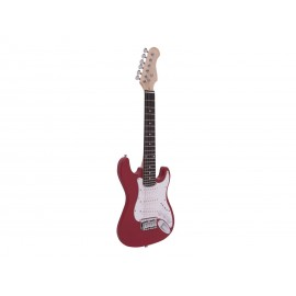 Dimavery J-350, elektrická kytara pro děti, červená