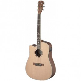 James Neligan ASY-DCE LH, elektroakustická kytara typu Dreadnought, levoruká