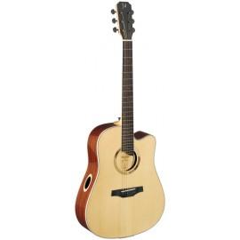 James Neligan SCO-DCE, elektroakustická kytara typu Drednought, přírodní