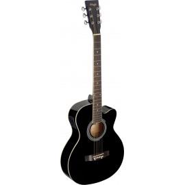 Stagg SA20ACE-BLK, elektroakustická kytara typu Auditorium