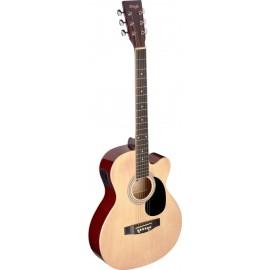 Stagg SA20ACE-NAT, elektroakustická kytara typu Auditorium