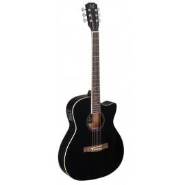 James Neligan BES-ACE BK, elektroakustická kytara typu Auditorium