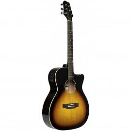 Stagg SA35 ACE-VS, elektroakustická kytara typu Auditorium
