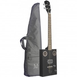 James Neligan CASK-HOGSCOAL, elektroakustická kytara typu Cigar Box