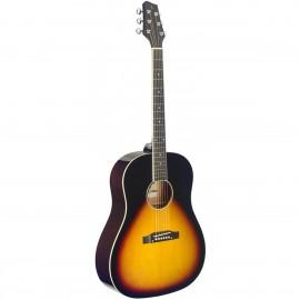 Stagg SA35 DS-VS, akustická kytara typu Slope Shoulder Dreadnought