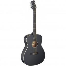 Stagg SA35 A-BK LH, akustická kytara typu Auditorium, levoruká